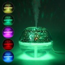 500ML Ultrasonic Air Humidifier Diffuser Purifier Moisture Room Nebulizer Lamp