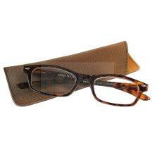 Adult Swiss Design Leopard Print Reading Glasses