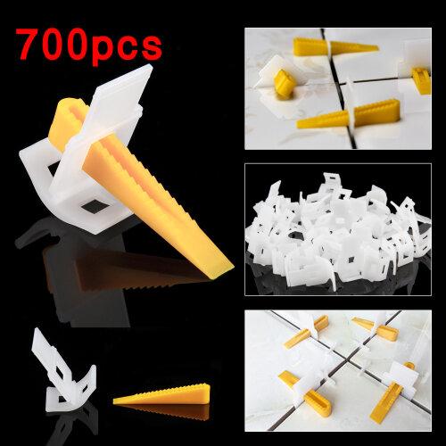 700 Tile Leveling Spacer System 500 Clips + 200 Wedges Flooring