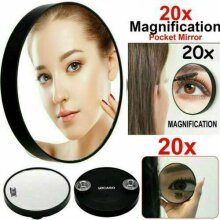 20X Magnifying Cosmetics Make Up Pocket Travel Hand Mirror