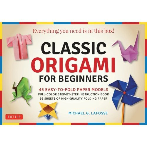 Classic Origami for Beginners Kit: Everything You Need is in this Box!