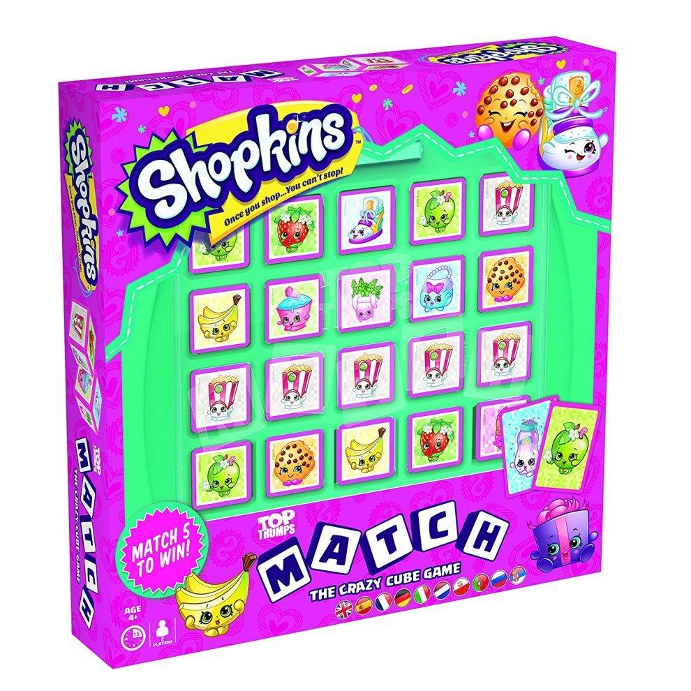 Shopkins Top Trumps Match Board Game