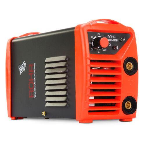 Röhr MINI 220PI | ARC Welder Inverter MMA 240V / 220 Amp DC Portable Stick Welding Machine