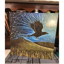 Starbringer Greetings card by Hannah willow