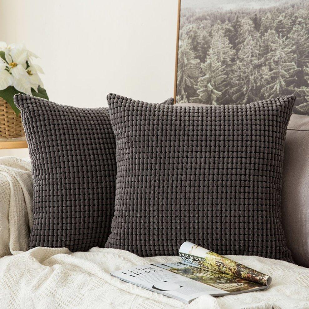 MIULEE Set of 2 Decorative Throw Pillow
