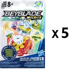 Beyblade Micros Series 2 Battling Tops Blind Bag Party Favours - Pack of 5