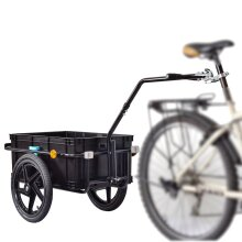 Bike Cargo Trailer Trolley Luggage Storage Cart Carrier 70L