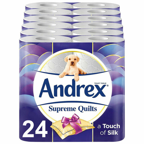 Andrex Supreme Quilts Toilet Roll (6 x 4Roll)