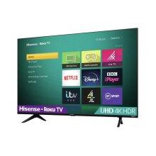 "Hisense R55A7200GTUK 55"" SMART 4K Ultra HD HDR LED TV Roku Freeview Play - Refurbished"