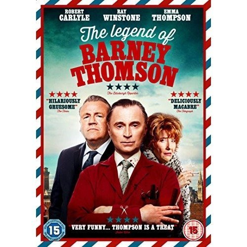 The Legend Of Barney Thomson DVD [2015]