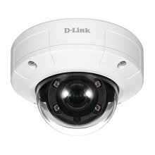 D-Link DCS-4633EV - Vigilance 3-Megapixel Vandal-Proof Outdoor Dome Camera, White