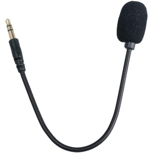 Detachable 2.5mm Microphone for Turtle Beach Gaming Headsets Mic Foam