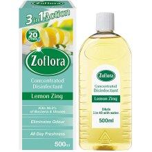 Zoflora Disinfectant Longlasting Fragrance Lemon Zing P New Pack
