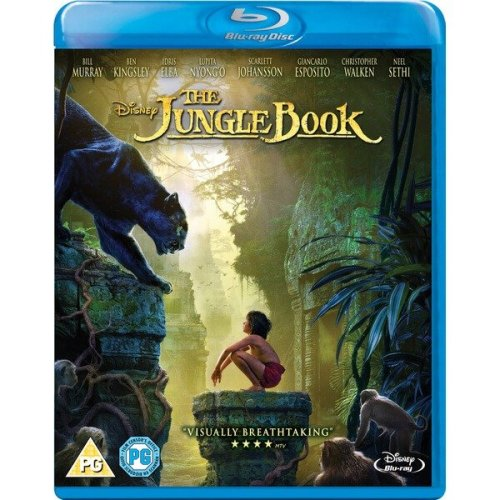 The Jungle Book (Live Action) Blu-Ray [2016]