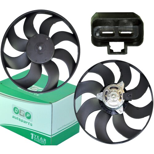 RADIATOR COOLING FAN WITH MOTOR FOR VAUXHALL CORSA D 1.4 1.6T 1.3 CDTI 1.7 CDTI