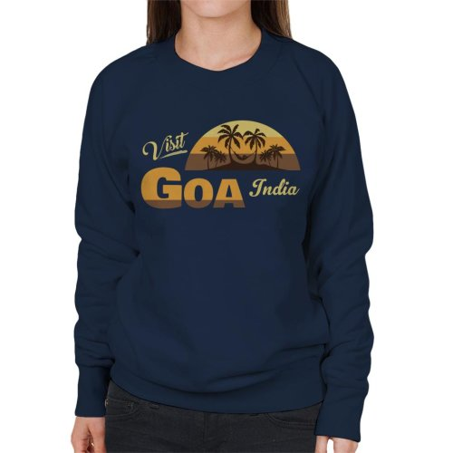 Visit Goa India Women's Sweatshirt
