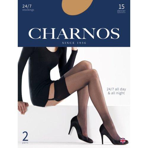 Charnos Opaque 70 Denier Matt Tights 2 Pair Pack