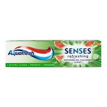 Aquafresh Senses Refreshing Watermelon Cucumber & Mint Toothpaste 75ml