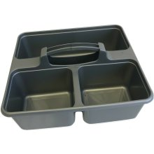 UK Made Plastic Cleaning Caddy Carry All Clean