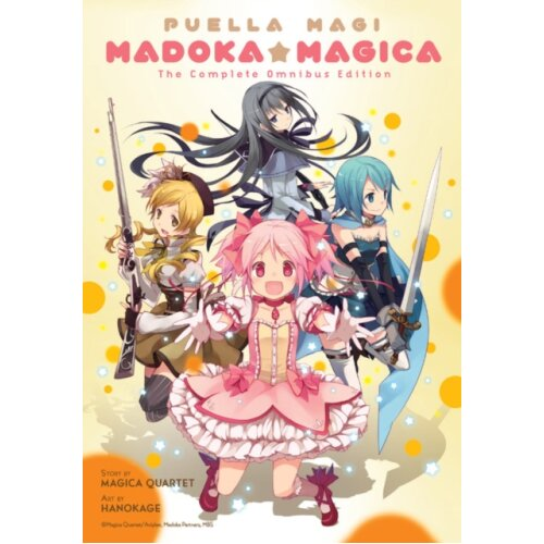Puella Magi Madoka Magica The Complete Omnibus Edition by Quartet & Magica