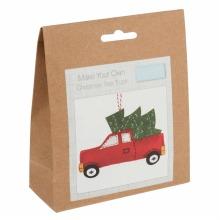 Felt Decoration Kit: Christmas Tree Truck