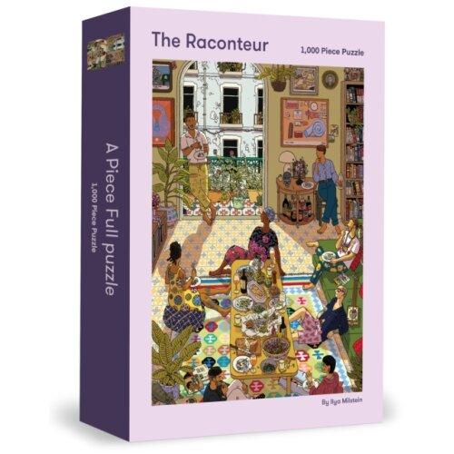 The Raconteur 1000 Piece Puzzle by Milstein & Ilya