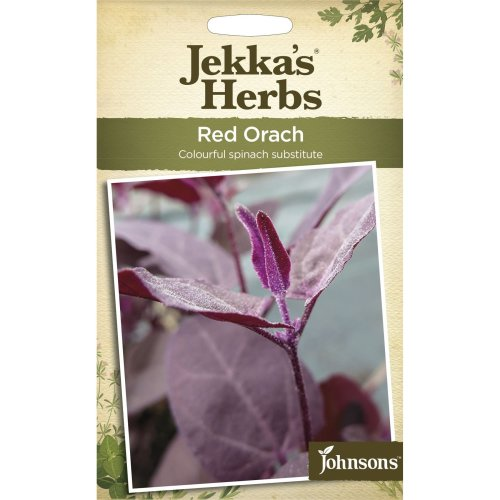 Johnsons - Jekka's Herbs - Pictorial Pack - Red Orach - 125 Seeds