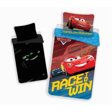 Cars 3 Glow in the Dark Rotary Bedding Set