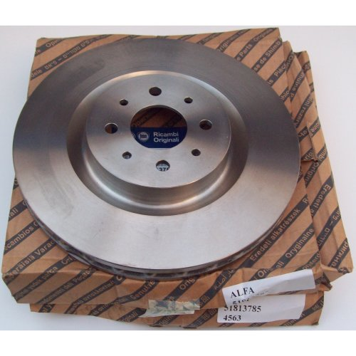Alfa Romeo Mito 955 Genuine 305mm Diameter Front Vented Brake Disc x2 51813785