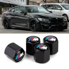 4x/Set for Metal Chrome Wheel Tyre Valve Dust Caps For BMW X|3|5