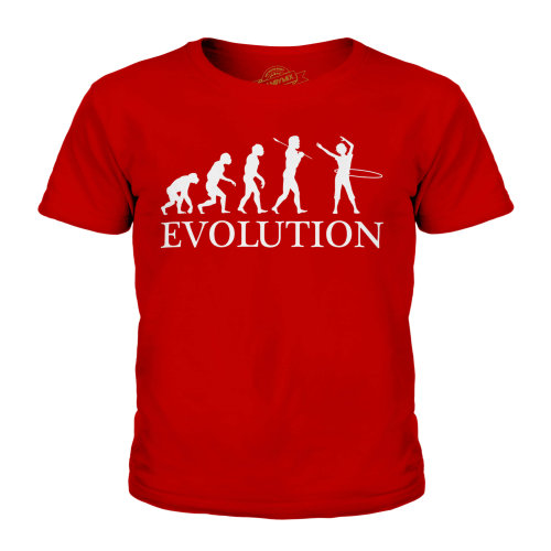 Candymix - Hula Hoop Evolution - Unisex Kid's T-Shirt