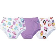 Bambino Mio 3TP18-24 LL GMX Mixed Girl Lilac, Training Panty, Pack of 3, 18-24 Months, Multicolored