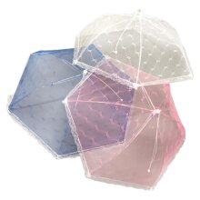 Giant Food Umbrella Cover Mesh Net Picnic Camp Cake Insect Protection