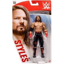 WWE Basic Series 108 AJ Styles Wrestling Action Figure