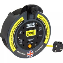 SMJ 8m CP0813 4 Socket Power Extension Reel 13A - Thermal Protection