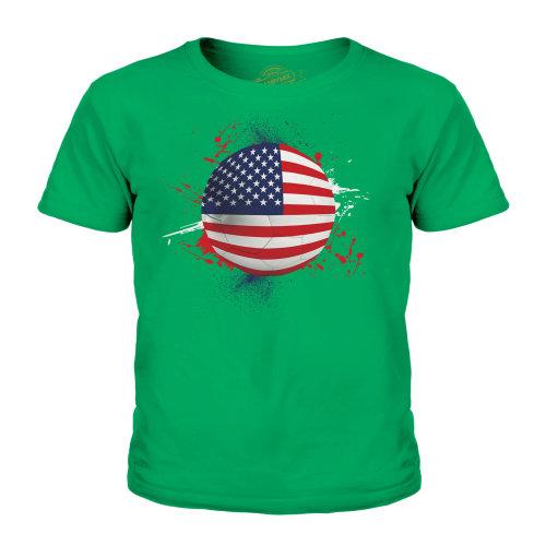 Candymix - Usa Football - Unisex Kid's T-Shirt