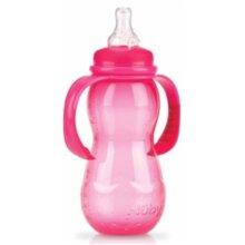 training bottle anticolic 320 ml junior 23 cm red