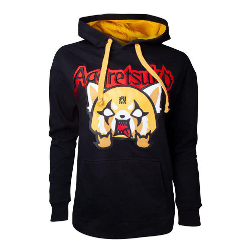 Aggretso Retso Rage Embroidered Hoodie Female Black SW721733AGG-S SW721733AGG-S
