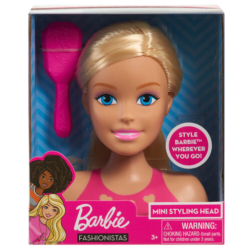 Barbie Fashionistas Mini Styling Head - Blonde Hair