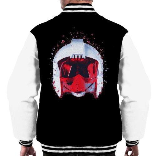 Original Stormtrooper Rebel Pilot Helmet Shatter Effect Men's Varsity Jacket