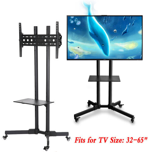"""Mobile TV Trolley Fit 32 - 65"""" TVs 