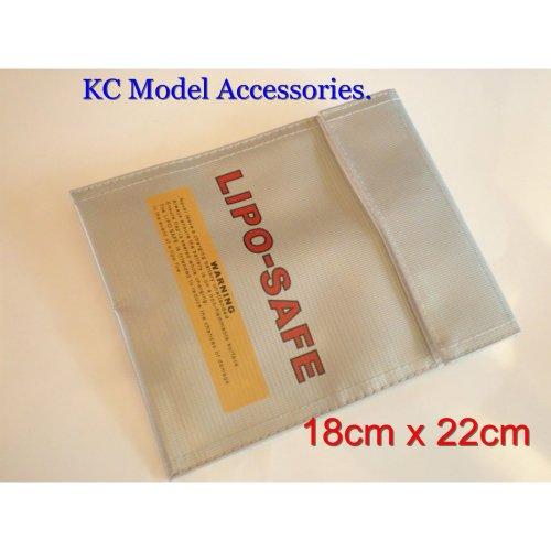 RC Lipo Battery Bag Safe Guard Charging Bag 18cm x 22cm