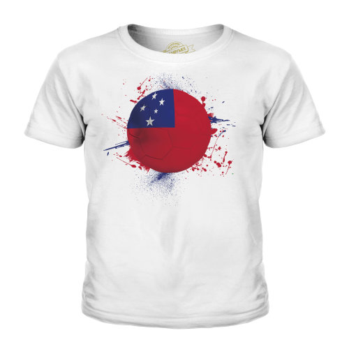 Candymix - Samoa Football - Unisex Kid's T-Shirt