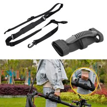 Shoulder Strap and Carry Handle Set for Folding Bikes and Scooters