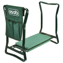ASAB Garden Kneeler Seat Foldable Kneelers Pad Soft Pads Bag Seniors