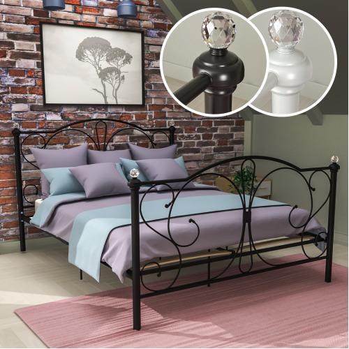 Barcelona Bed Frame Metal Bedroom Modern Bedstead