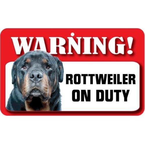 Rottweiler Pet Sign