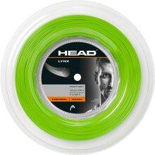 Head Lynx 200m Reel Tennis String - Green
