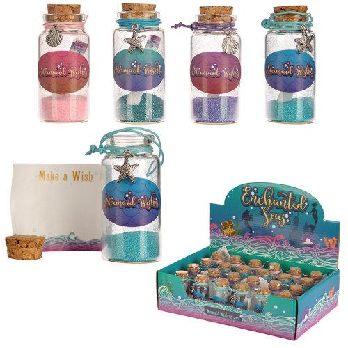 Fun Mermaid Collectables - Mermaid Wishes Jar