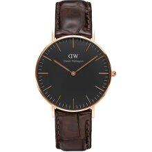 Daniel Wellington Classic York Unisex Wristwatch DW00100140